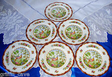 "Royal Albert Chelsea Bird Side Plates 7"" Individually Sold"