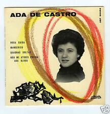 45 RPM EP FADOS ADA DE CASTRO  ROSA CAIDA