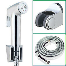 Explosion-proof Hand-Held Bath/Toilet Shower Head Nozzle Hose Holder Bidet Spray