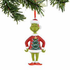 Grinch Tree Sweater Christmas Ornament ~ Department 56 ~ 4041045