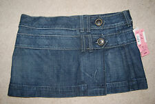 NWT Blue Denim CITIZENS OF HUMANITY Wrap Around Short Skirt