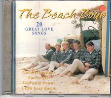 (DX134) The Beach Boys, 20 Great Love Songs - 1996 CD