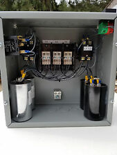 40hp 3 Phase Rotary Converter Panel