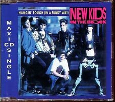 NEW KIDS ON THE BLOCK - HANGIN' TOUGH (IN A FUNKY WAY) - FRENCH CD MAXI [2133]