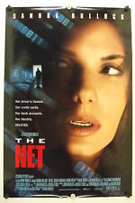 The NET - Sandra Bullock - Original Movie Poster - 1995 Rolled DS C9