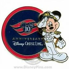 Disney Pin: DCL 10th Anniversary - Captain Mickey