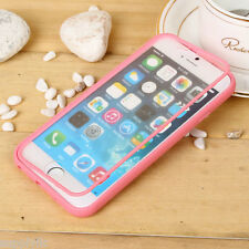 Clear Hybrid Bumper Protective Hard Case Thin Cover For Apple iPhone 6 6s Plus