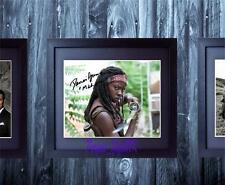 Danai Gurira The Walking Dead SIGNED AUTOGRAPHED FRAMED 10x8 REPRO PRINT
