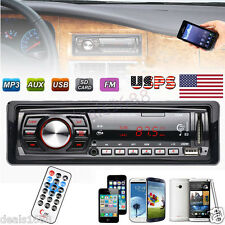 Bluetooth Auto Car Stereo Audio In-Dash FM Aux FM USB MP3 Radio Player 2017