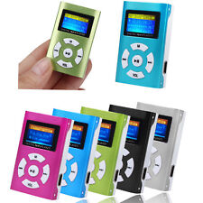 5 USB 2.0 Mini Sport MP3 Player LCD Schermo Supporto 32GB Micro SD TF Scheda