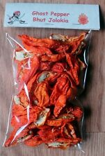 Dried Ghost Pepper (Bhut Jolokia) Pepper - Grown in the USA