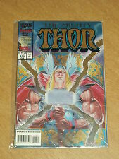 THOR THE MIGHTY #475 VOL 1 MARVEL NEW COSTUME FOIL COVER JUNE 1994