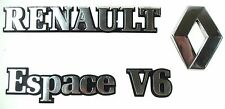 Reanault Espace Badges Logos Front and Rear V6 Genuine 7216  Nr 7147