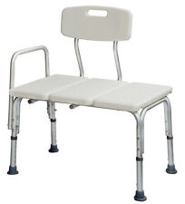Medical Adjustable Bathroom Bath Tub Shower Transfer Bench Stool Chair Bath Seat