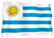 Adesivo Auto Sticker Tuning Moto Auto Stickers Bandiera Bandiera Uruguay