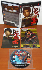 Onimusha 1: Warlords + Guía, Capcom, PlayStation 2, PS2, Pal-España ¡¡COMPLETO!!