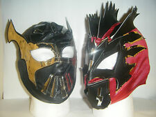 KALISTO & SIN CARA KID CHILDRENS HEAD WRESTLING MASK WWE FANCY DRESS UP COSPLAY
