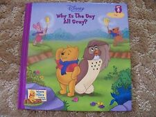 Disney's Winnie the Pooh Why Is The Day All Gray # 8 Hard Cover Book