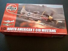 AIRFIX A02047 North American F-51D Mustang 1:72 Aircraft Model Kit GREAT VALUE