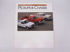 1993 Ford Commercial Pickups Chassis F-Series Ranger Sales Brochure Catalog