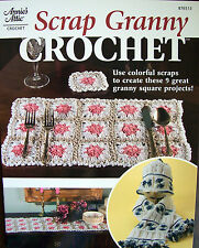 SCRAP GRANNY Crochet Project Pattern Book 9 Proj's OOP