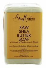 Shea Moisture - Raw Shea Butter Bar Soap with Extracts of Frankincense & Myrrh -
