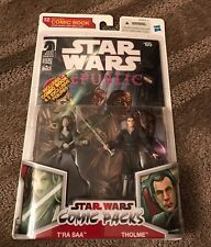 "Star Wars Legacy Comic 2-Pack T'ra & Tholme 3.75"" Action Figure New 2009 Hasbro"