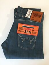 Edwin Japan SEN Selvage Denim Jeans Cinch Back 28W/32L BNWT