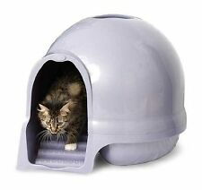 Booda Dome Cleanstep Cat Box, Brushed Nickel , New, Free Shipping