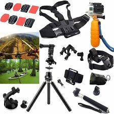 Head Chest Mount Floating Monopod Pole Accessories For Go Pro Hero 2 3 4 Session