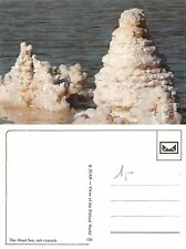 Asia Israel The Dead Sea Salt crystals - מדינת ישראל ים המלח (A-L 054)
