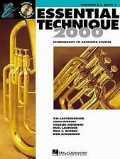 Essential Technique 2000 French Horn Textbook Book 3 All Ages Free CD Included
