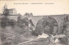 PIERRE-PERTHUIS 1 les deux ponts écrite