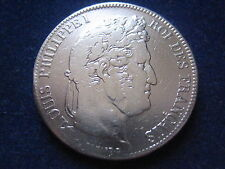 "MDS FRANKREICH 5 FRANCS 1835 A ""LOUIS PHILIPPE I."", SILBER  #15"