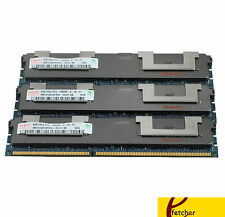 24GB (3 X 8GB) MEMORY FOR HP PROLIANT DL160 G6 DL160SE G6 DL170H G6 DL180 G6