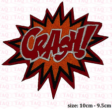 Crash iron sew on patch comic novelty batman embroidered badge applique  # 054