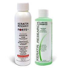 Extra Strength Keratin Forte treatment 120ml USA made Brazilian blowout with CS