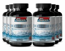 Diuretic - Water Away Pills 700mg - Healthy Urinary Tract & Bladder Capsules 6B