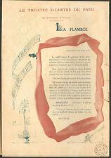 63 CLERMONT-FERRAND MICHELIN BIBENDUM LE THEATRE ILLUSTRE DU PNEU PUBLICITE 1911