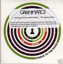 (563I) Grammatics, The Vague Archive - DJ CD