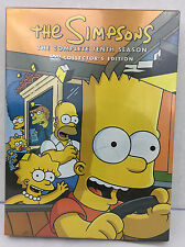 The Simpsons The Complete Tenth Season Collectors Edition DVD 23 Episodes 4 Disc