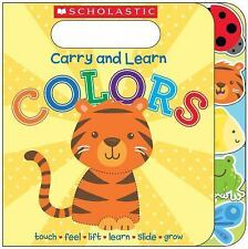 Carry and Learn Colors by Inc.-NEW fun board book-educational!