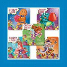 15 CANDY LAND Scratch 'n Sniff Scented Stickers Party Favors