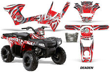 Polaris Sportsman 90 AMR Racing Graphic Wrap Kit Quad Part Decals ATV DEADEN RED