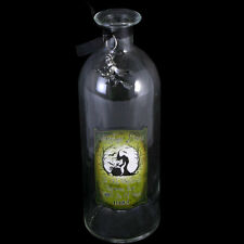Clear Witches Brew Glass Bottle. Witchcraft. Spells. Halloween. Gothic Homeware