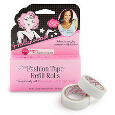 "Hollywood Fashion Secrets Fashion Tape Gun Refill Rolls, 2 Rolls 120"" Tape"