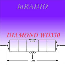 DIAMOND WD-330 HF DIPOLE ANTENNA 2-30MHz 25m 150W + FAST AND FREE DELIVERY WD330