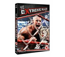 Official WWE Extreme Rules 2011 DVD