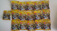 LEGO 8683 SERIES 1 COMPLETE SET OF 16 MINIFIGURES NEW ZOMBIE SKATOR NINJA ROBOT@