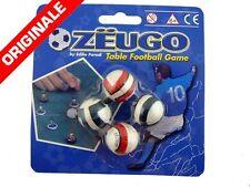 ZEUGO CONFEZIONE 4 PALLE PICCOLE Giocattoli Football Calciatori Regalo 0056